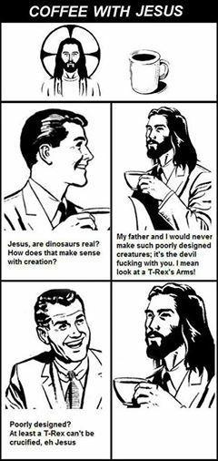 Jesus got rekt'd