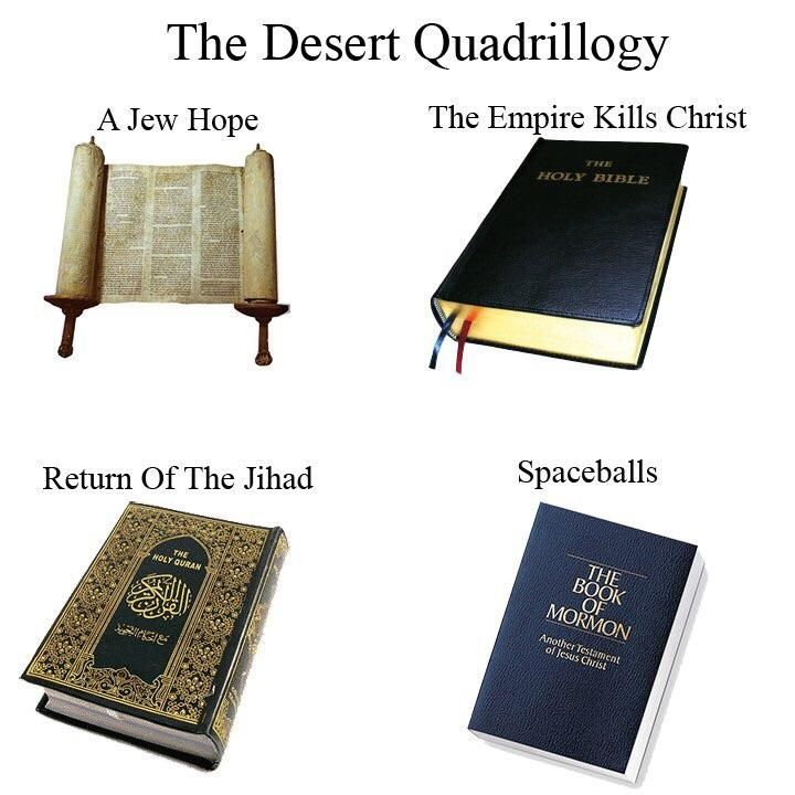 Star Wars meets the religions of the world