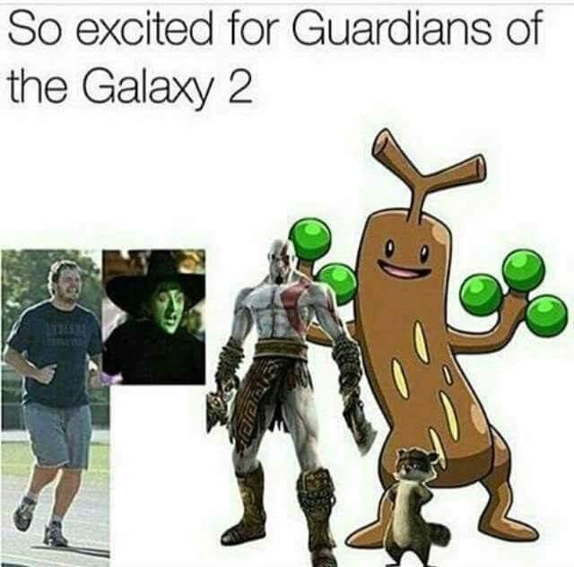 So excited for Guardians of the Galaxy 2