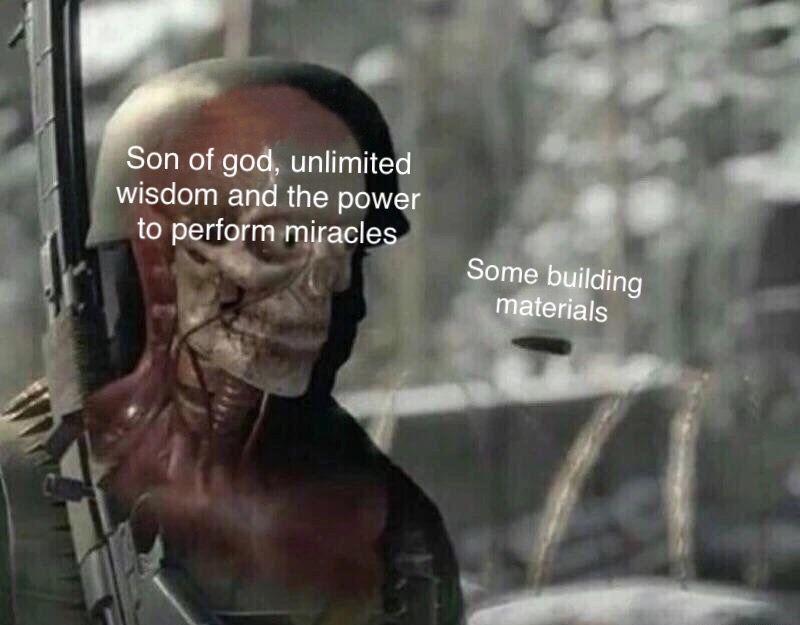 Mfw jesus