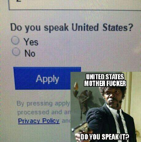 No I don't speak sowwy