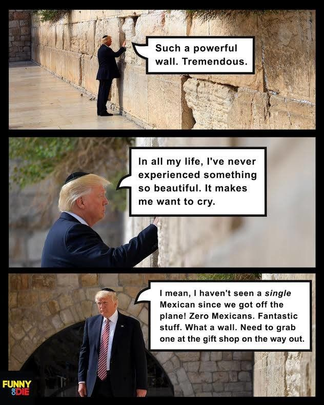 Trump flew to Israel for advice