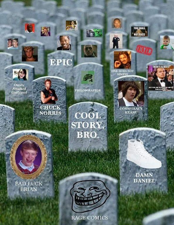 Meme cemetery