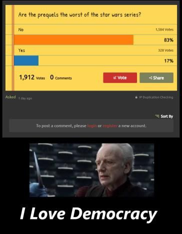 I am the democracy