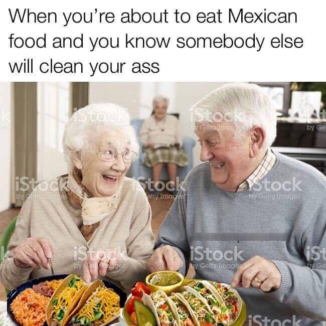 Two options: 1) Nursing Home 2) Ass Eating (or as it is also known: true love)