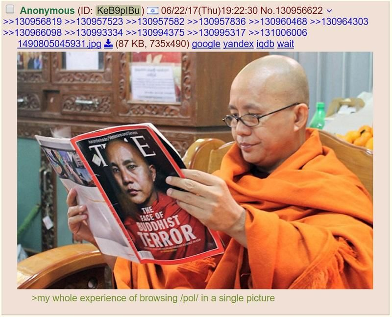 /pol/ gets an ironic visitor