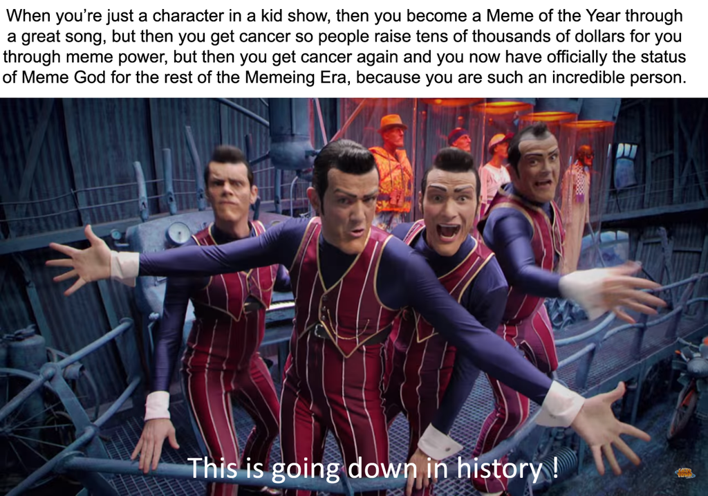 He is number 1