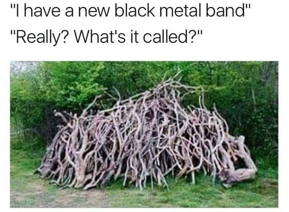 That's pretty metal indeed