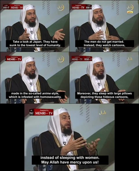 Disdain for weaboos? Islam may be the religion for you!
