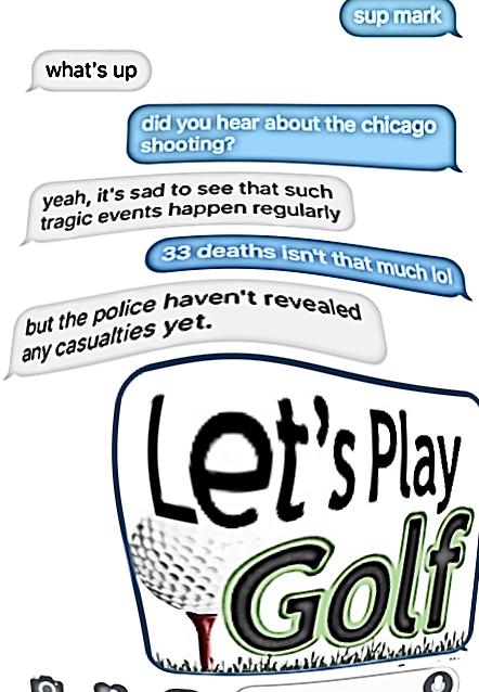 Cousin let's go golfin