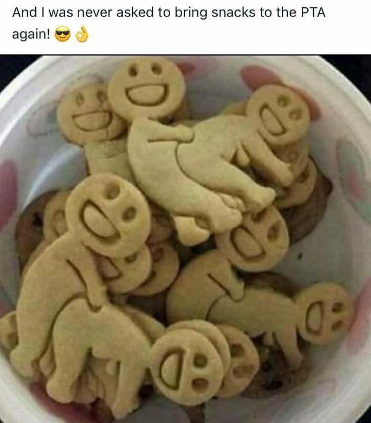 Bring the cookies!