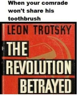 Should have stopped bothering Stalin about his toothbrush