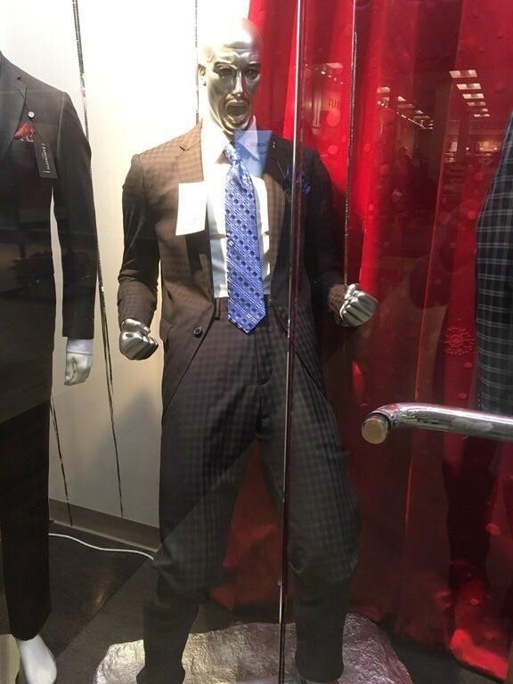 This mannequin
