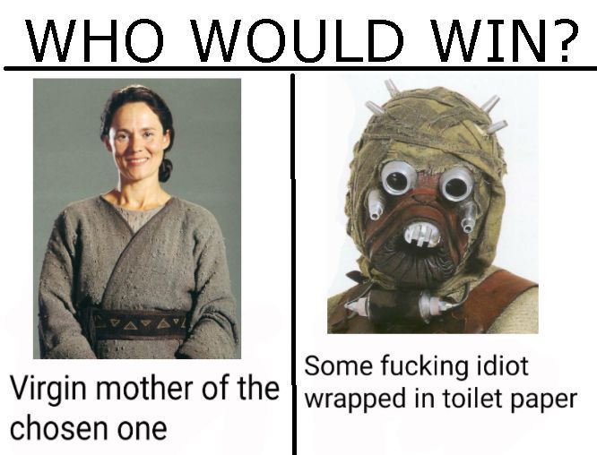 Depends who has the high ground