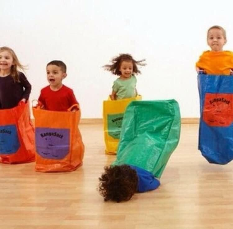 4 out of 5 kids enjoy sack races.