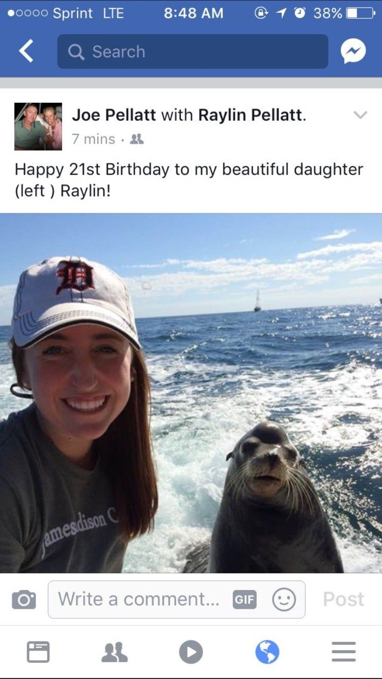 Seal girl grew up