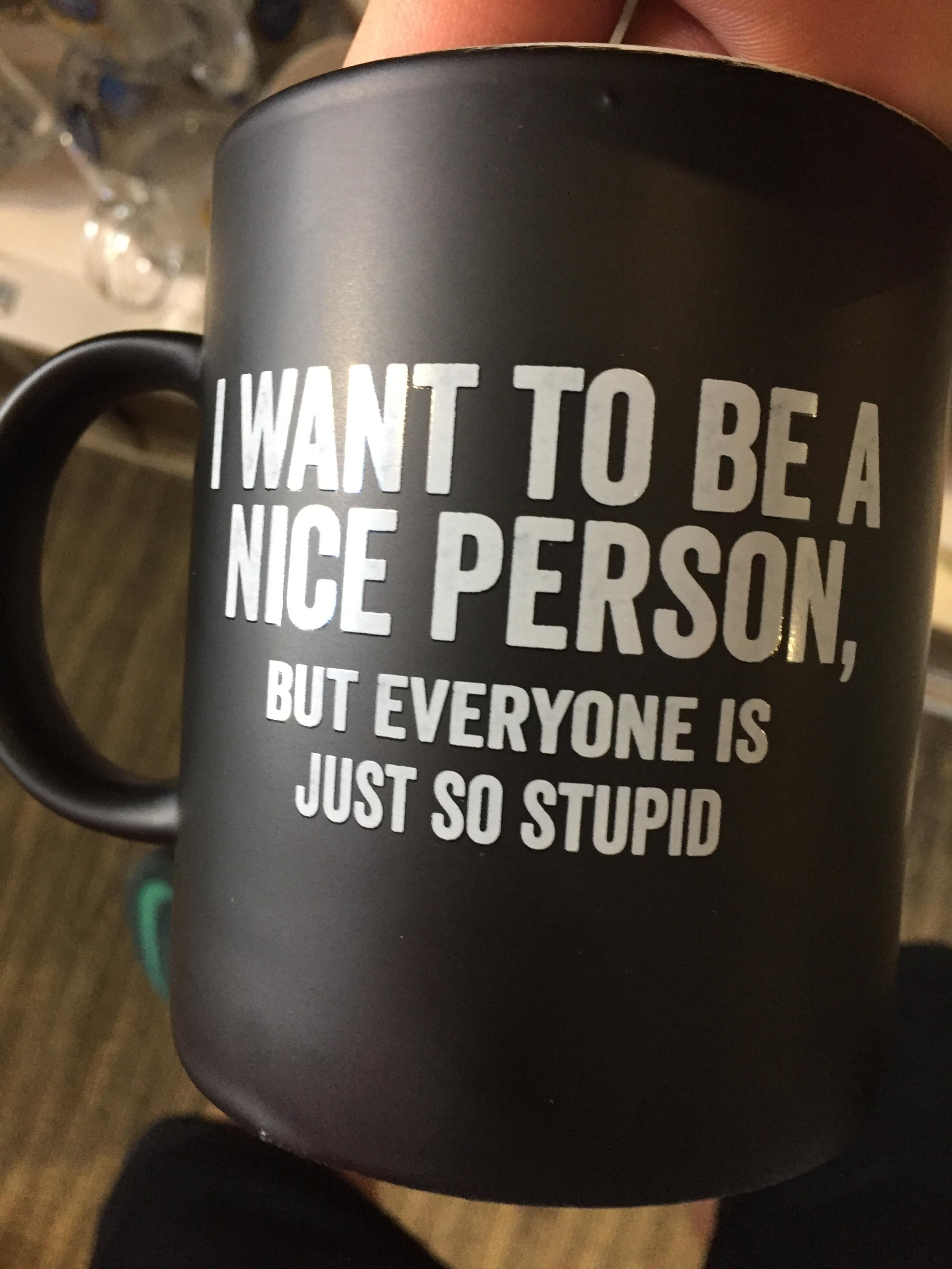 My friend really wants this cup...