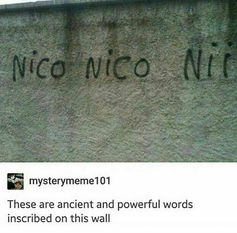 Nico Nico Niiii