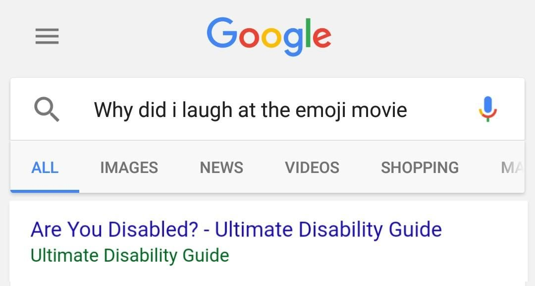 Image result for when you accidentally laugh during the emoji movie