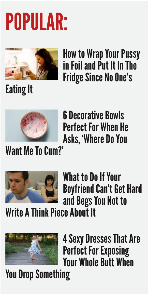 Reductress is a gift from the heavens