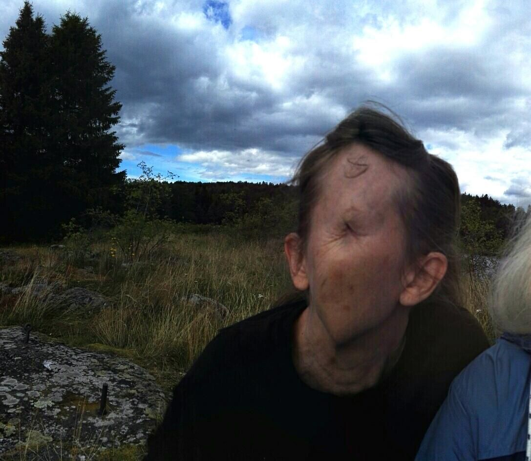 When panorama mode literally turns your mom into an ***
