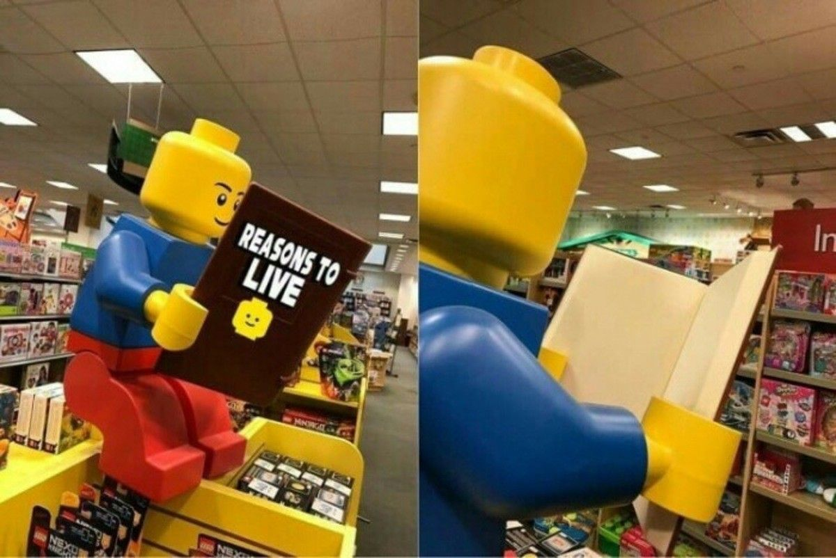 Lego knows what's up