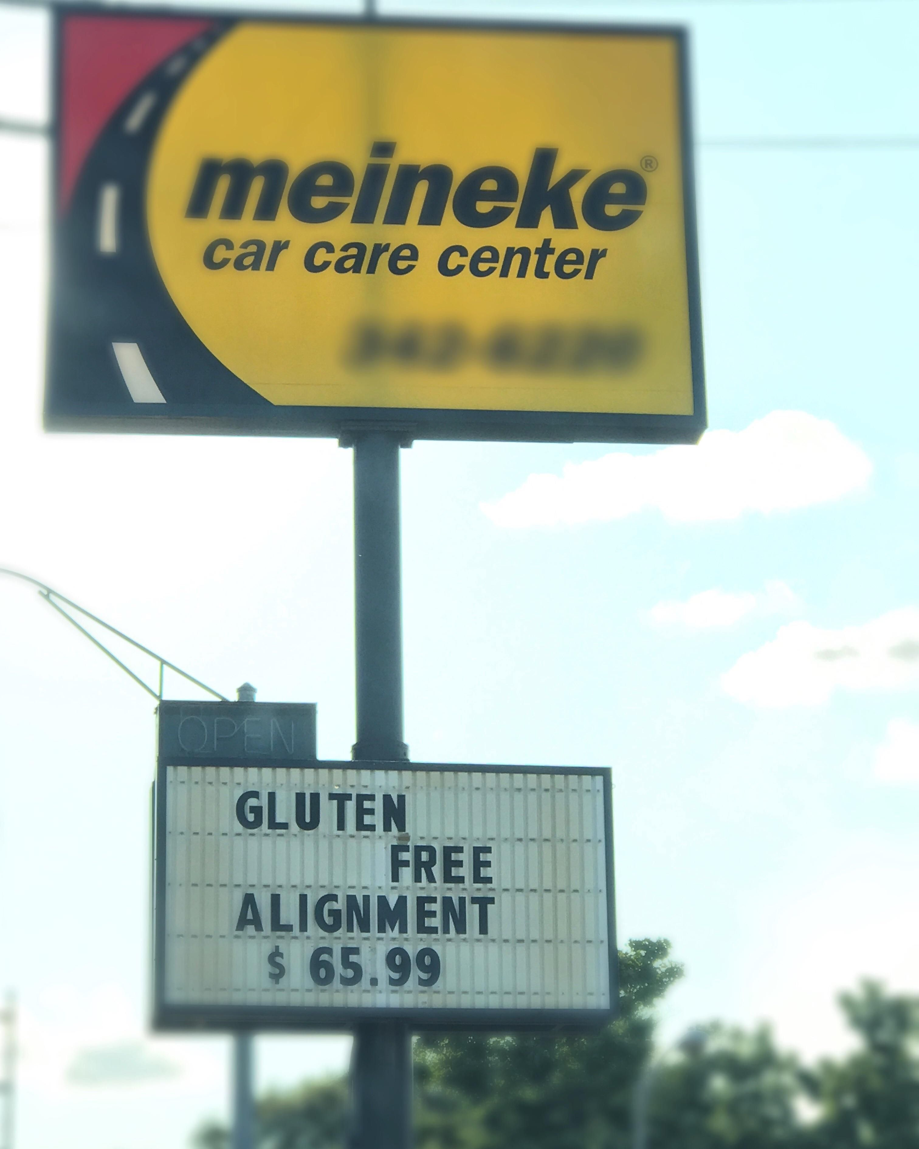 Gluten is the trend now...