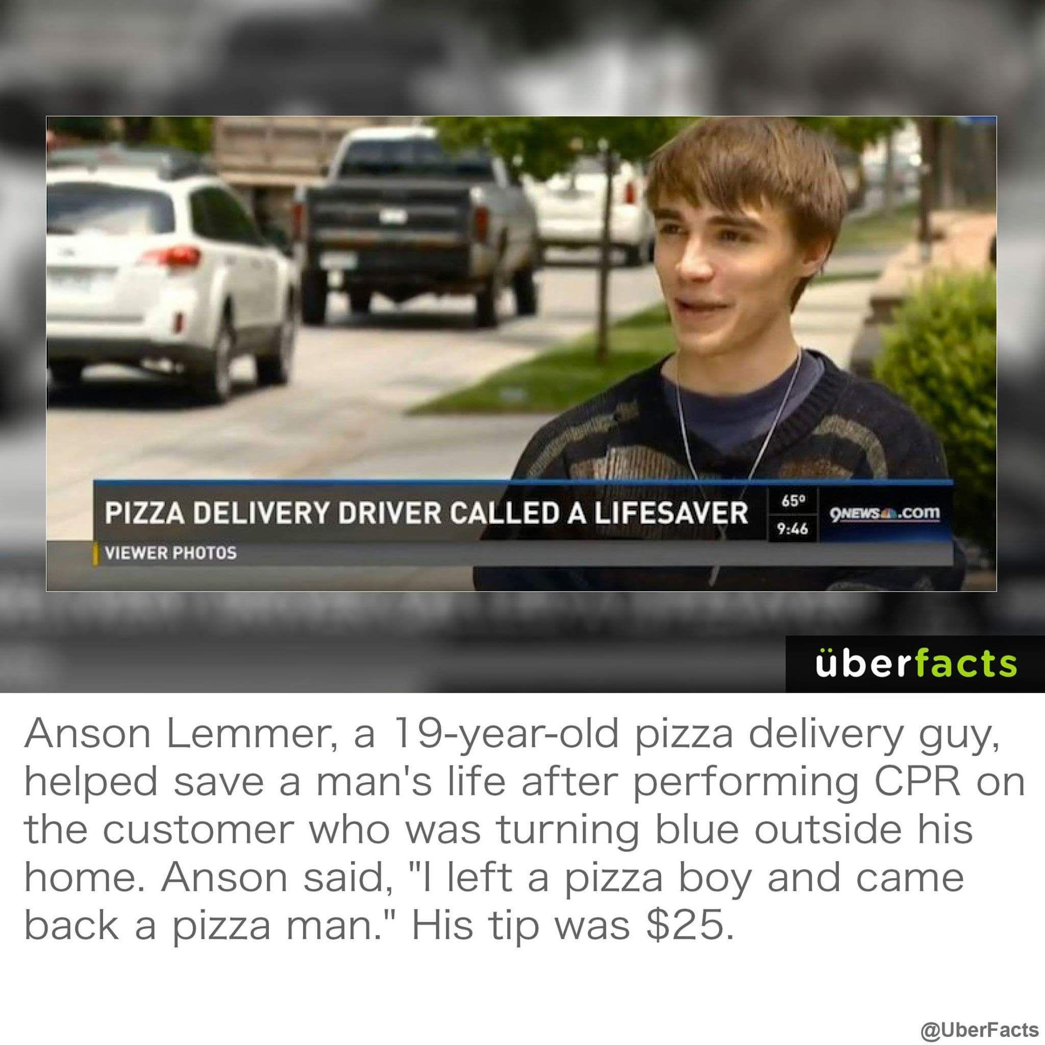 Pizza man, my hero