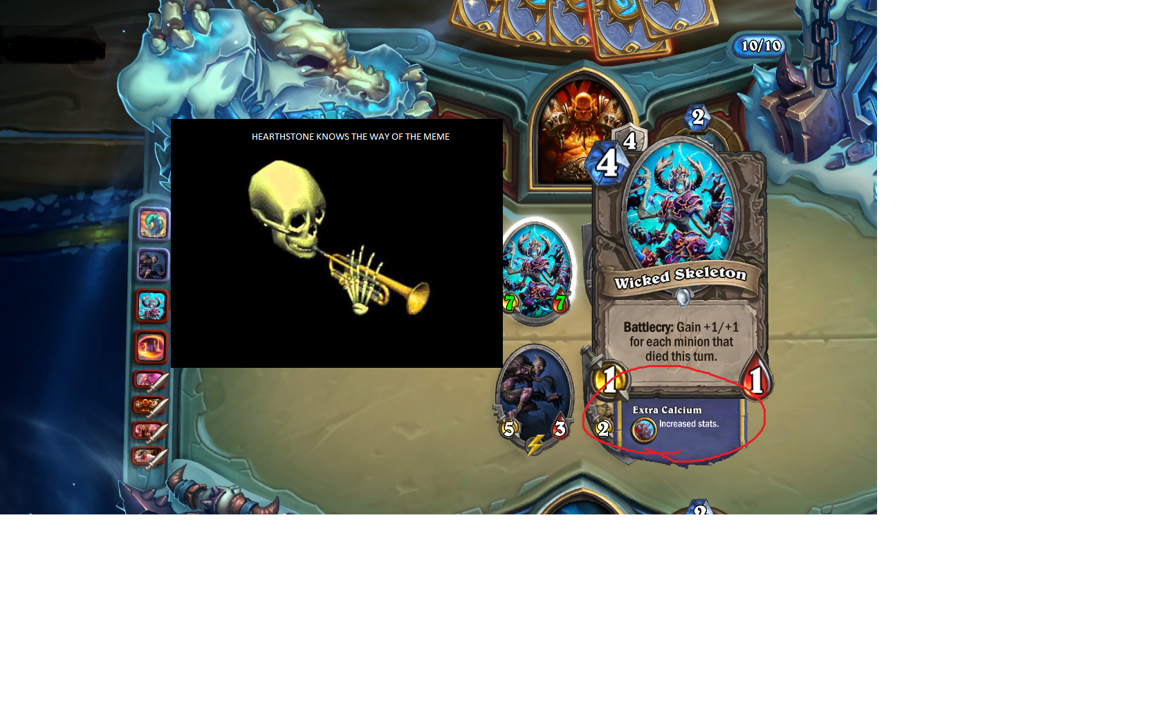 HEARTHSTONE DOOTS TO BEAT