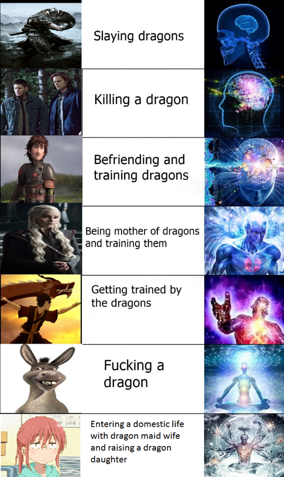 Where would lewding a dragon go ?