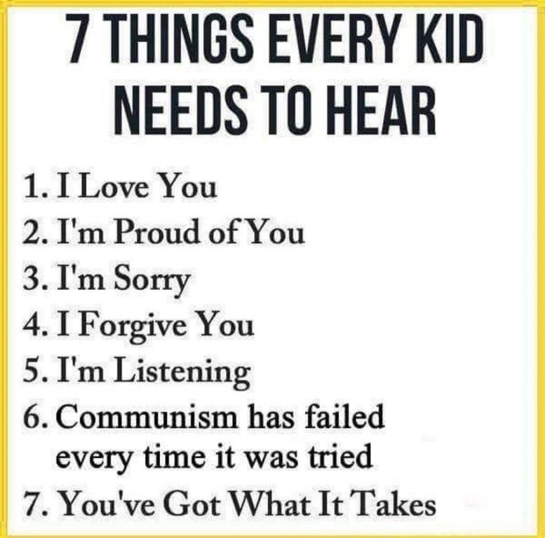 Every kid must learn