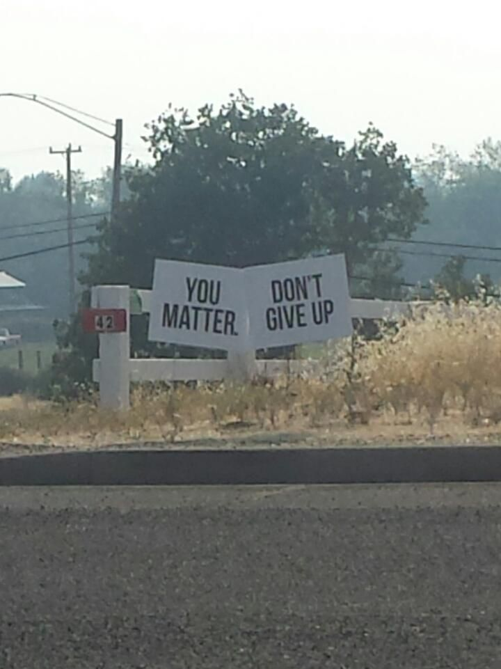You are matter, but you don't.