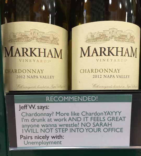 How about some ChardonYAYYY?