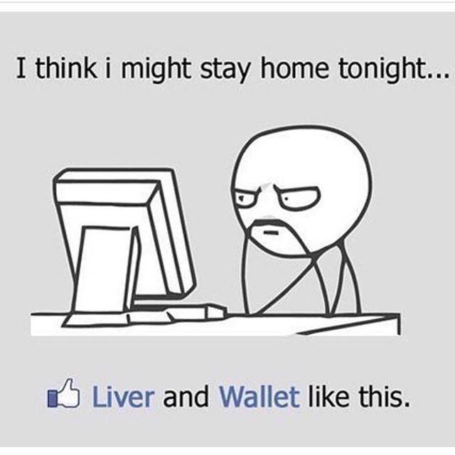 I'm Staying Home Tonight...