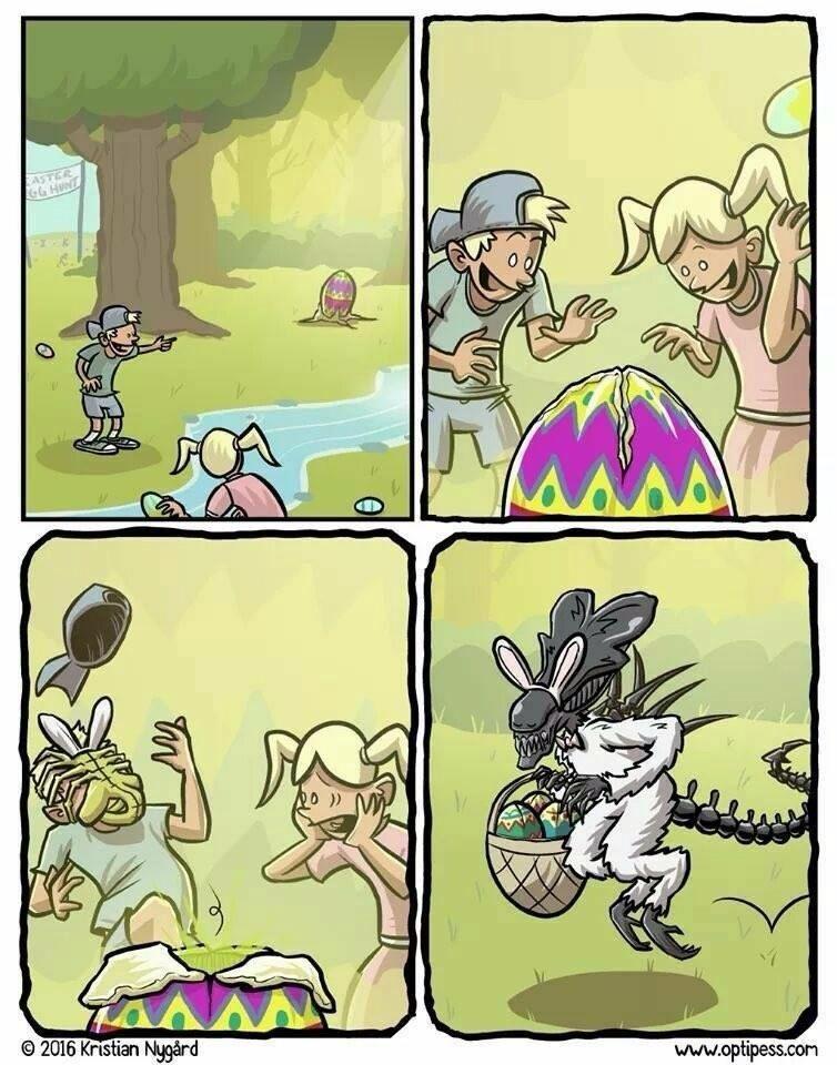Alien 7 - Easter