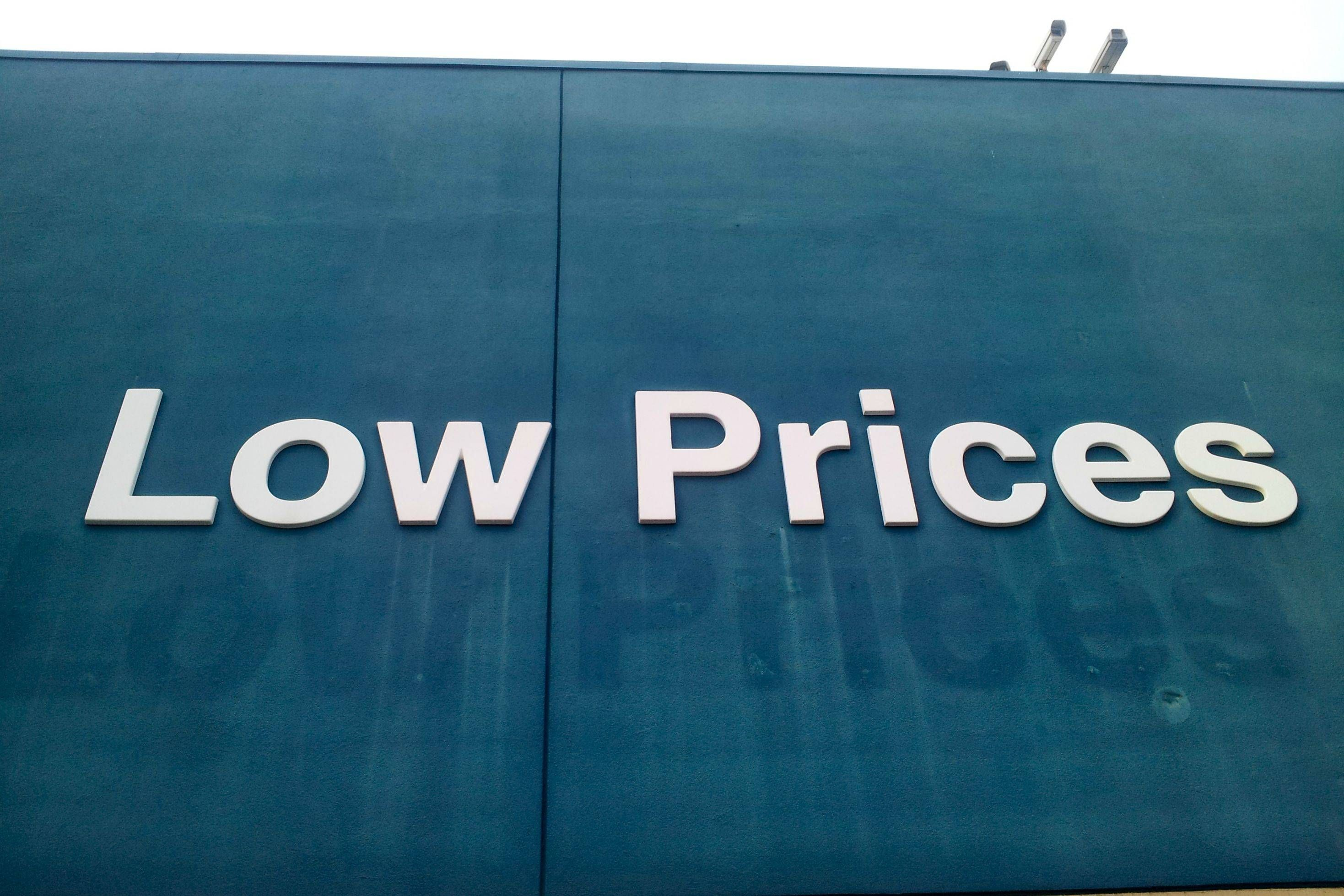 WalMart raised its low prices