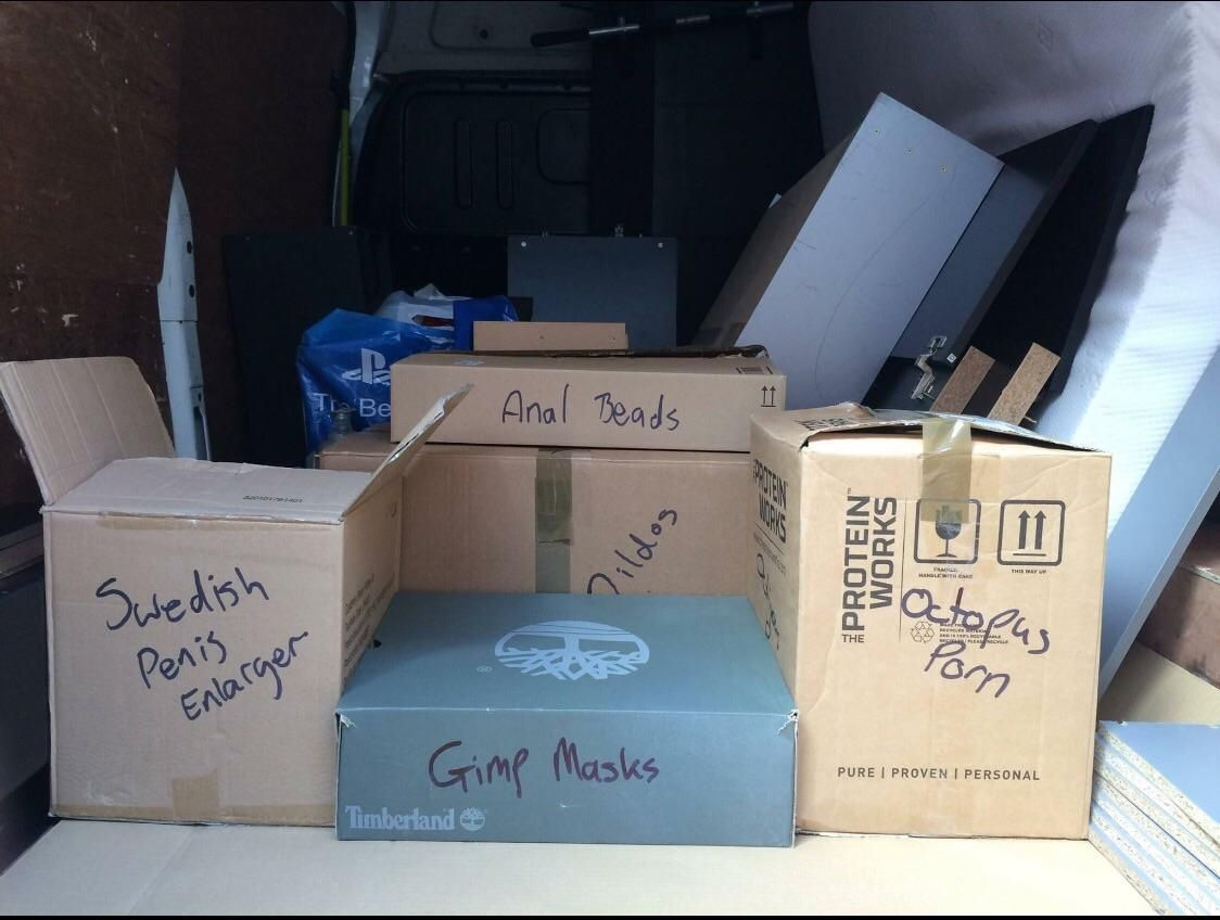 Reconsider allowing friends to label your boxes.