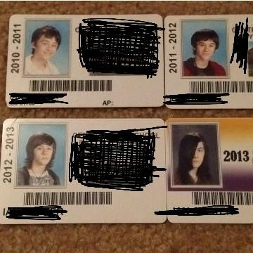 The High School years weren't good to my friend...