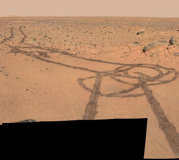 Mars Rover = $800 Million; Team to Operate = $1 Billion; Drawing a Dong on The Surface of Another Planet = Priceless.