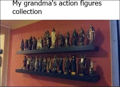 Catholic grandma