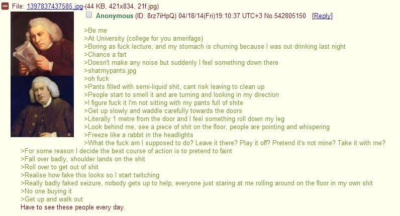 Anon on a university
