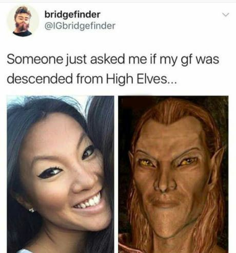 Have you heard of the high elves ?