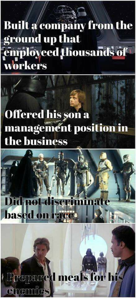 Vader did nothing wrong