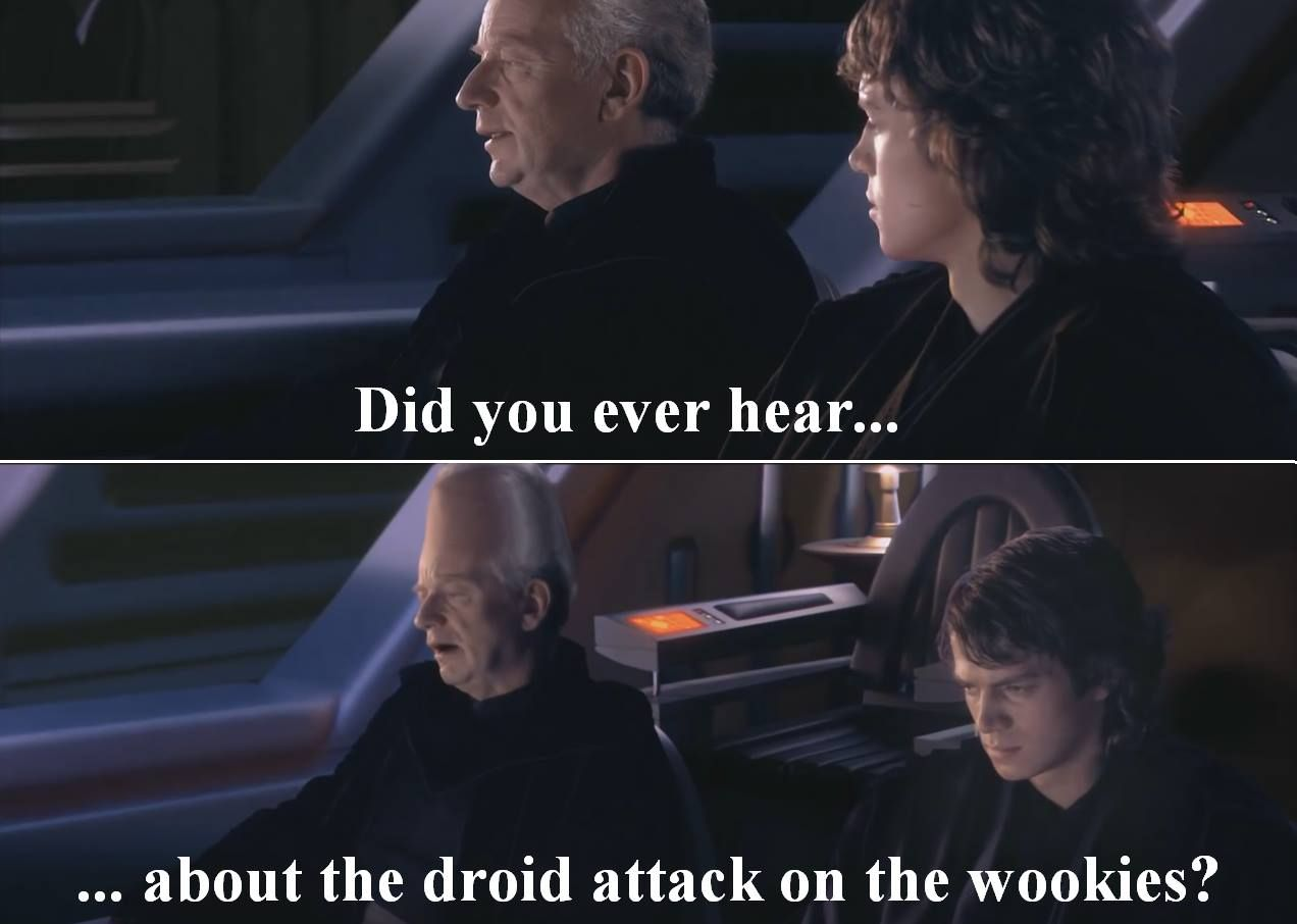 It's not a story the sith would tell you