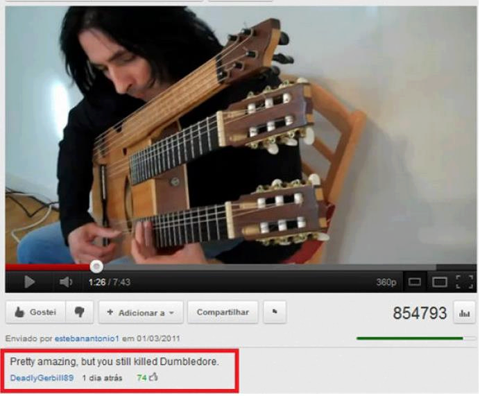 Who knew Snape also jammed
