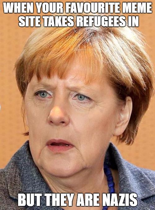 Is that good or bad Frau Merkel?