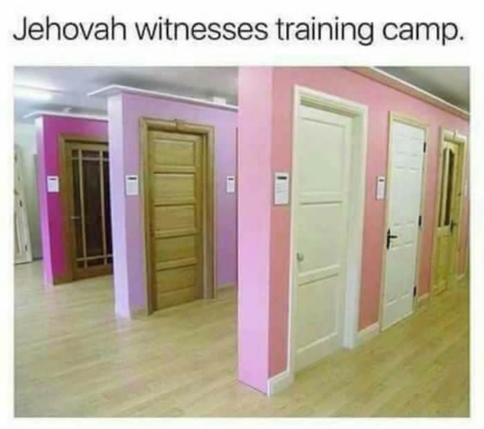 Stage 3 - only the toughest jehovas remain