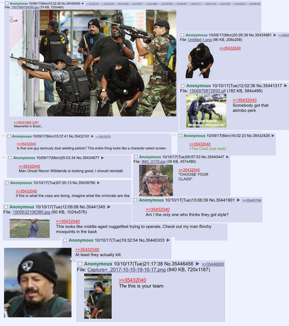 Some serious /k/ommandos