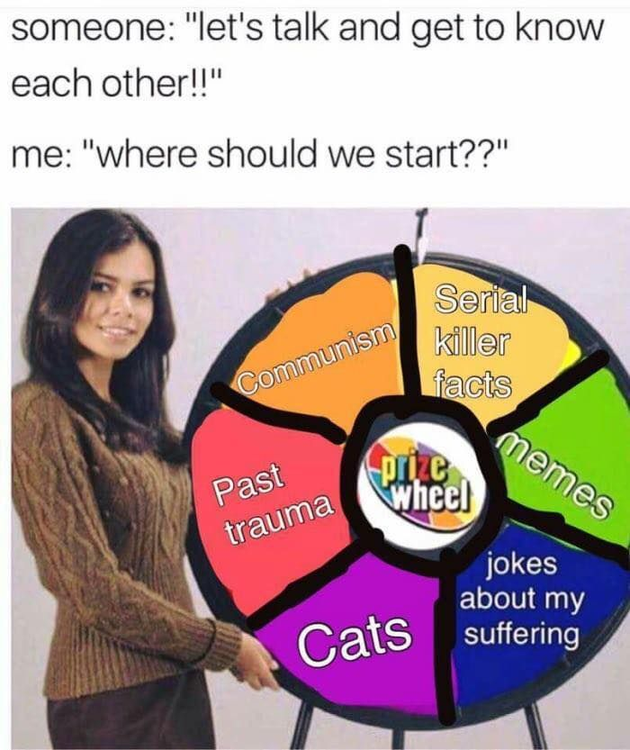 The memer wheel