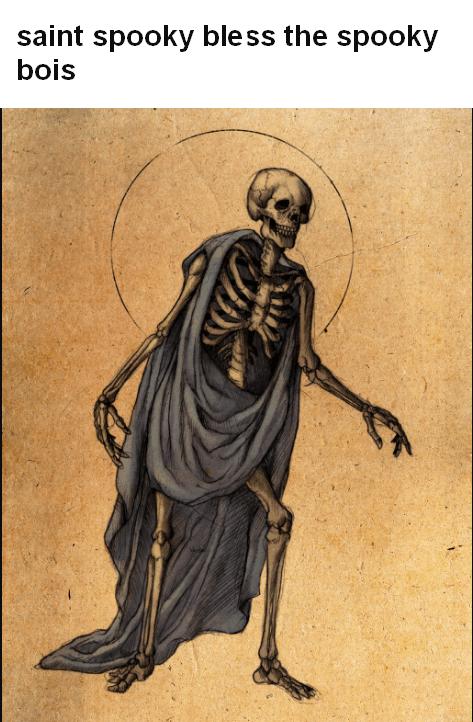 Spooky saint